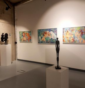 Winter Show at Trinity Art Gallery with Degree Art Gallery