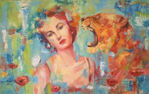 Spirit animal empowering woman