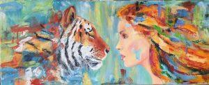 Female empowerment painting